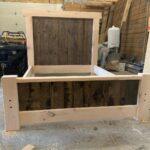 Rustic Pine Bed-BNMac Homes