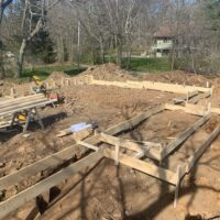 Formwork-New Post and Beam Home-BNMac Homes